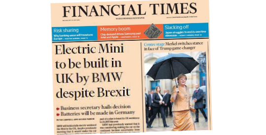 #DespiteBrexit: A Classic of the Genre