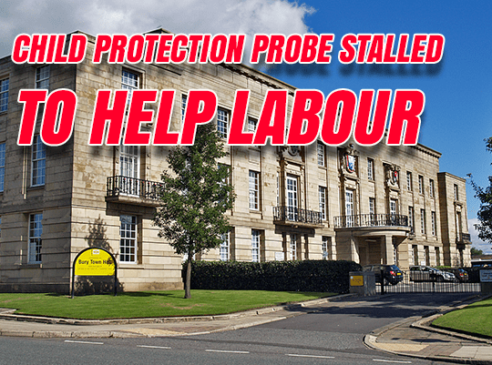 Child Protection Investigation 'Stalled to Help Labour'