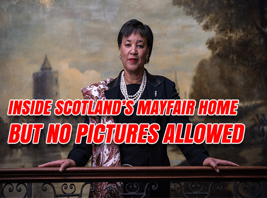 Inside Baroness Scotland's Home – But No Pictures Allowed