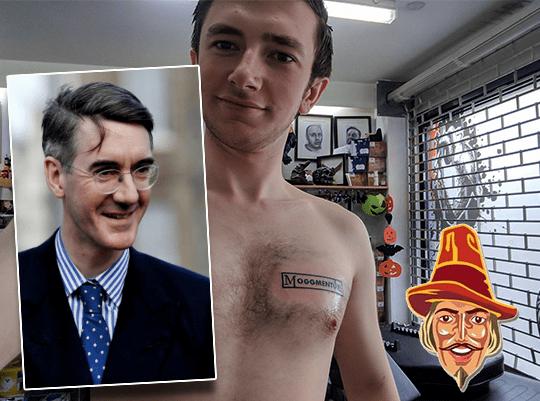 JRM Invites Tattoo Man to Commons