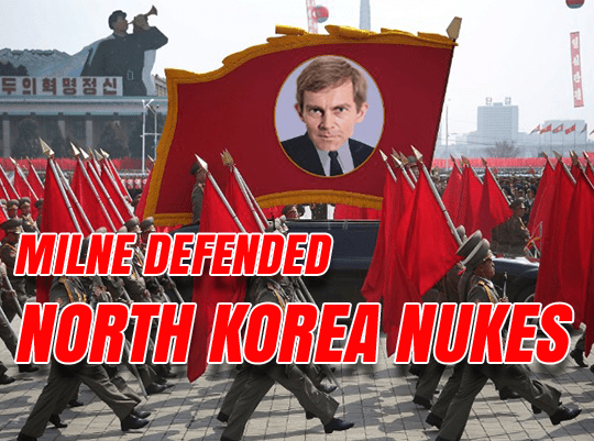 Milne: North Korea 'Rational' to Have Nukes