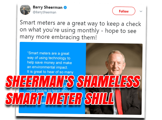 Sheerman's Shameless Shilling
