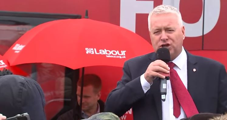 Corbyn Stands By Disgraced Lavery