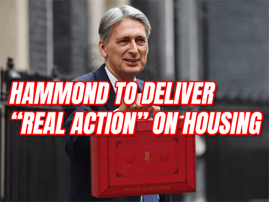 "Hammond to Deliver ""Real Action"" on Housing in Budget"