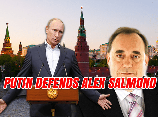 Putin: Alex Salmond is Not a Kremlin Propagandist