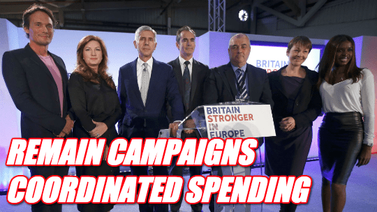 Remain Campaigns Coordinated Spending