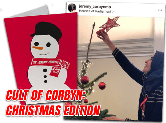 Cult of Corbyn – Christmas Edition