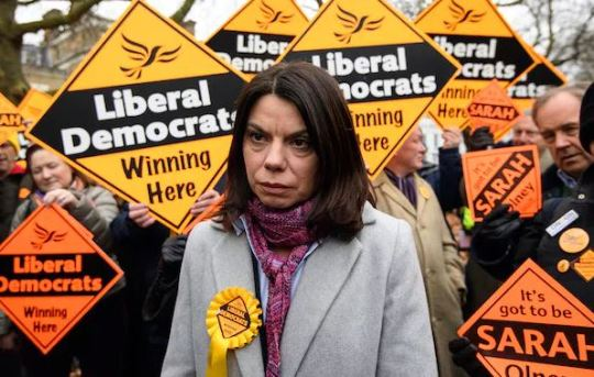 There Is Near Mutiny In Libdem Hq After Party Staff Discovered Sarah Olney Is Being Paid 68000 For A Four Day Week When Olney Quit As Vince Cables Chief