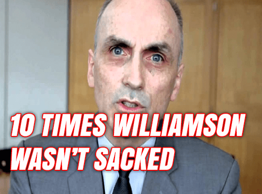 10 Times Chris Williamson Wasn't Sacked