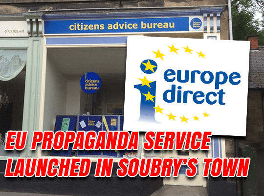 EU Propaganda Service Chooses Soubry's Constituency For New Base