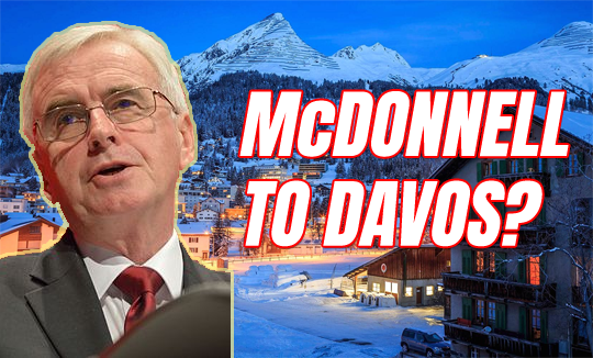 McDonnell Off to Davos