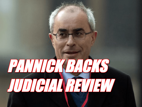 Lord Pannick Backs Gauke's Judicial Review