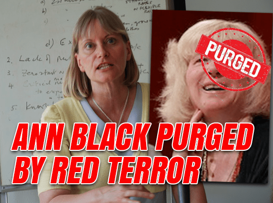 Ann Black Purged by Red Terror