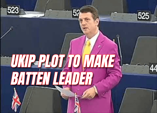 UKIP Plot to Make Muslim-Bashing Batten Leader
