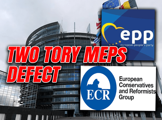 Brexit Blocking Tory MEPs Defect to Juncker's EPP Group