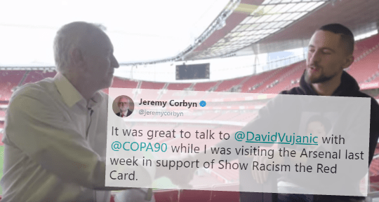 "Corbyn's New Anti-Racism Campaign Star Sent N-Word, ""Jew"" and Hitler Tweets"