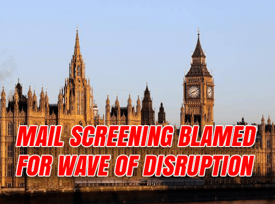 Parliament Changed Mail Provider Before Suspicious Package Wave