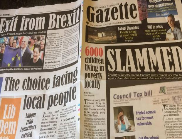 Fake LibDem Newspaper Lies to Richmond and Twickenham Voters