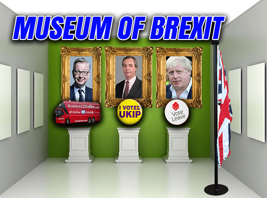 Museum of Brexit Launched to Celebrate Eurosceptic History