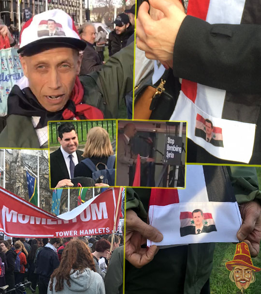 Top Corbynistas Attend Pro-Assad Rally