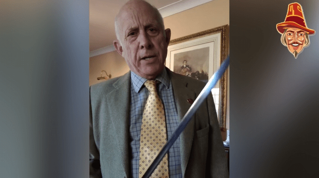 "WATCH: Godders Whips Out His Sword And Warns: ""You'll Get This"""
