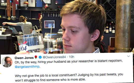 Owen Jones Calls Out Labour Nepotism