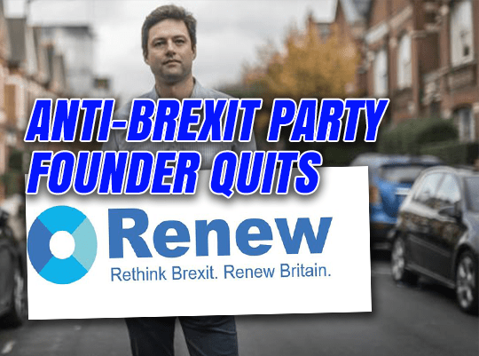 Anti-Brexit 'Renew' Flops