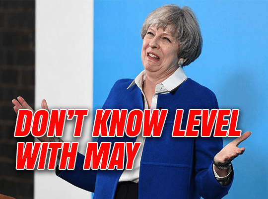 Don't Know Level With May