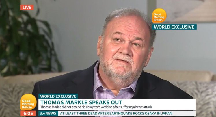"Thomas Markle: Harry ""Open To"" Brexit"