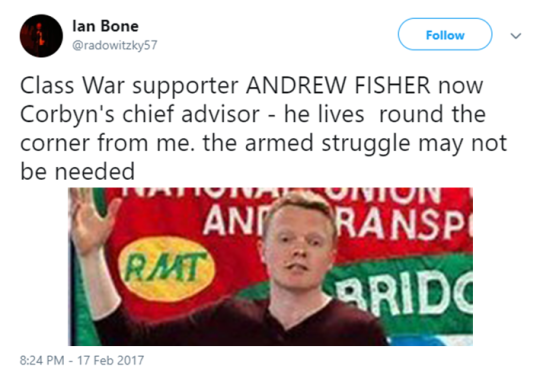 Is it ok to shout abuse at the children of politicians you dont like? Bone1-1