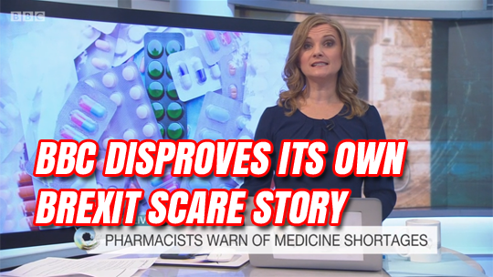 BBC Disproves its own Brexit Medicines Scare Story