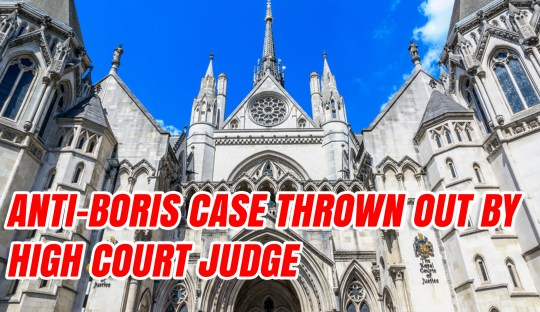 Private Prosecution Of Boris Thrown Out By High Court