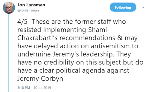 Top Labour figures 'interfered' in anti-Semitism disputes Lansman-accusation.png?zoom=1