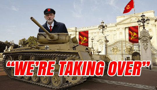 """McDonnell: I'll Send Corbyn to Tell Queen """"We're Taking Over"""""""
