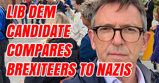 Lib Dem Compares Brexit to Nazi Germany and Domestic Abuse -