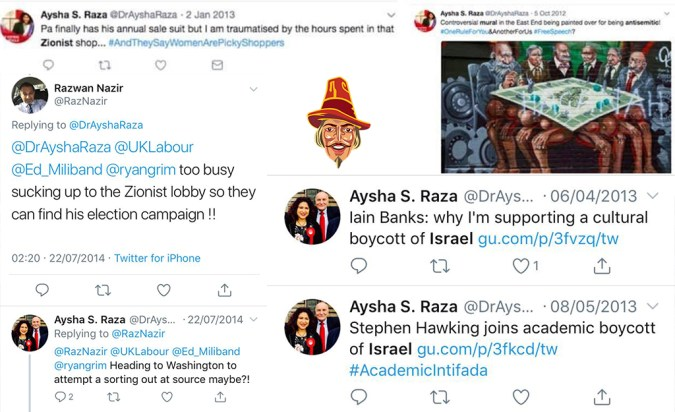 Jeremy Corbyn is slammed for backing 'Iran-supporting propaganda group' run by firebrand leaders who blamed Grenfell on 'Zionists' and say the West is 'the enemy' - Page 3 Aysha-s-raza.jpg?zoom=1