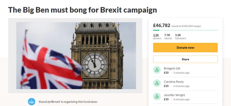 The Big Big Ben Brexit Bong Bung Bonanza