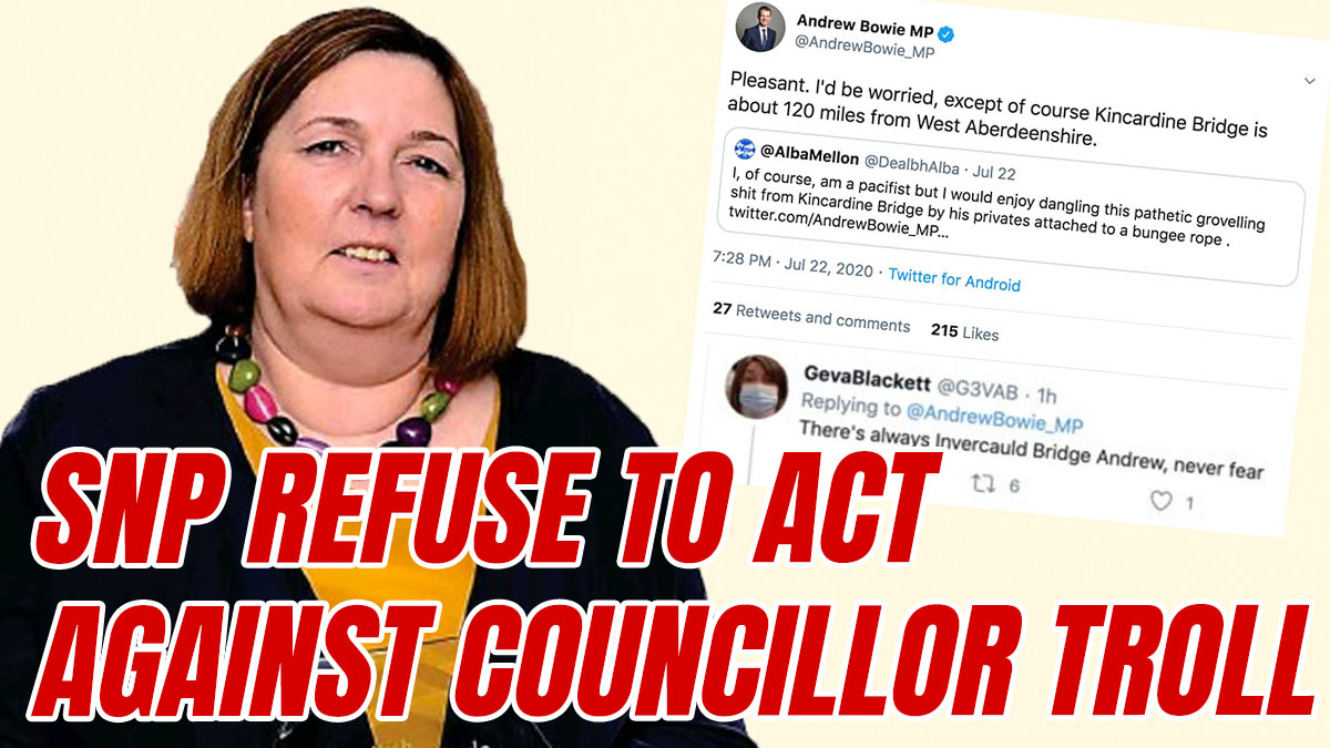 SNP Refuse to Act Against 'String MP Up' Councillor