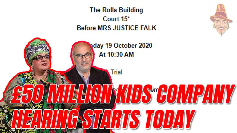 Kids Company Hearing Starts Today