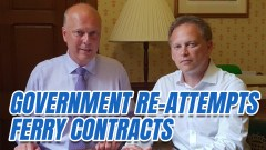 Grant Shapps's Ferry Impressive Contracts
