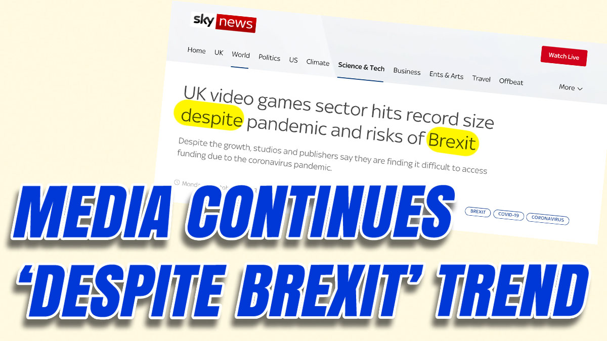 Despite Brexit Stories Continue in Midst of Deepest Recession in History
