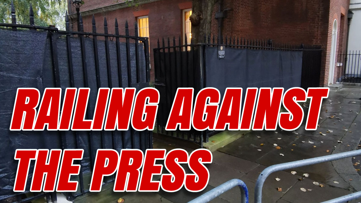 Downing Street Cover Up Exposed