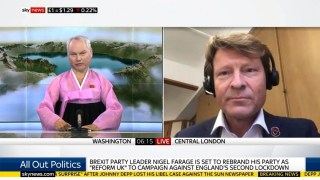 Adam Boulton/Richard Tice Bust-Up Over Brexit Party Accounts Conspiracy