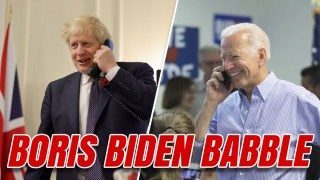 Boris Speaks to Biden