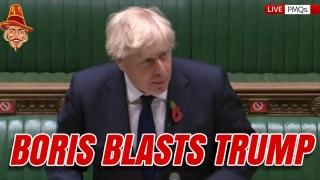 """Boris Calls Biden Relationship """"Refreshing"""""""