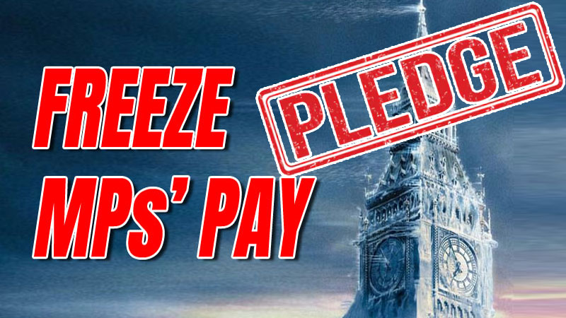 MPs Pledge Not to Take Pay Rise In Public Sector Freeze Solidarity