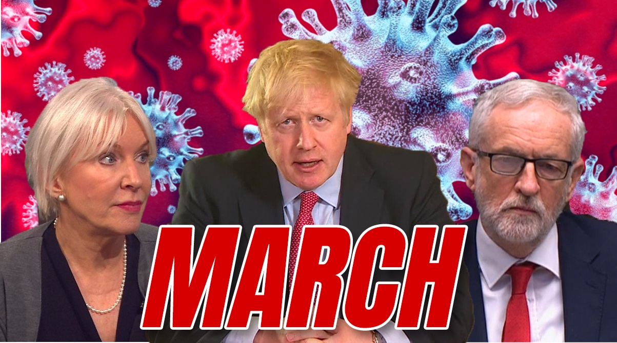 March Review: Covid Crunch, Lockdown Looms, Cheerio Corbyn