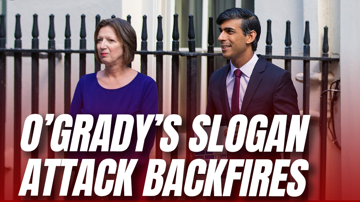 Frances O'Grady Accidentally Turns Fire on Her Own Campaign Slogan