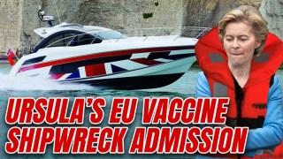 """Von der Leyen: Brexit Allowed UK to """"be a Speedboat"""" on Vaccine Rollout"""