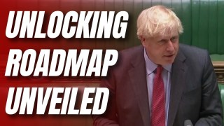 Watch Live: Boris Outlines Roadmap Out of Lockdown to Commons